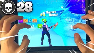 How To Get HIGH KILL Games EASILY On Fortnite Mobile! (for beginners)