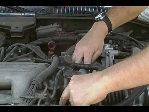 Grandam 3100 V6 1997 Vacuum Hose location  YouTube