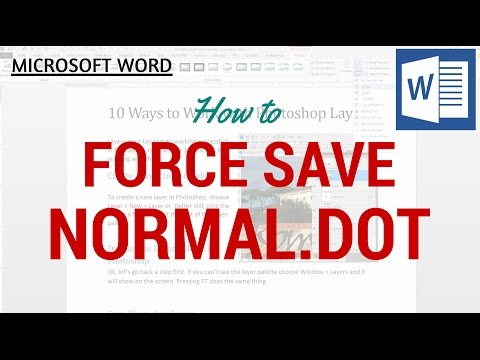 How to add Normal.dot in Ms Office 2010 & 2013 - Limon Font ...