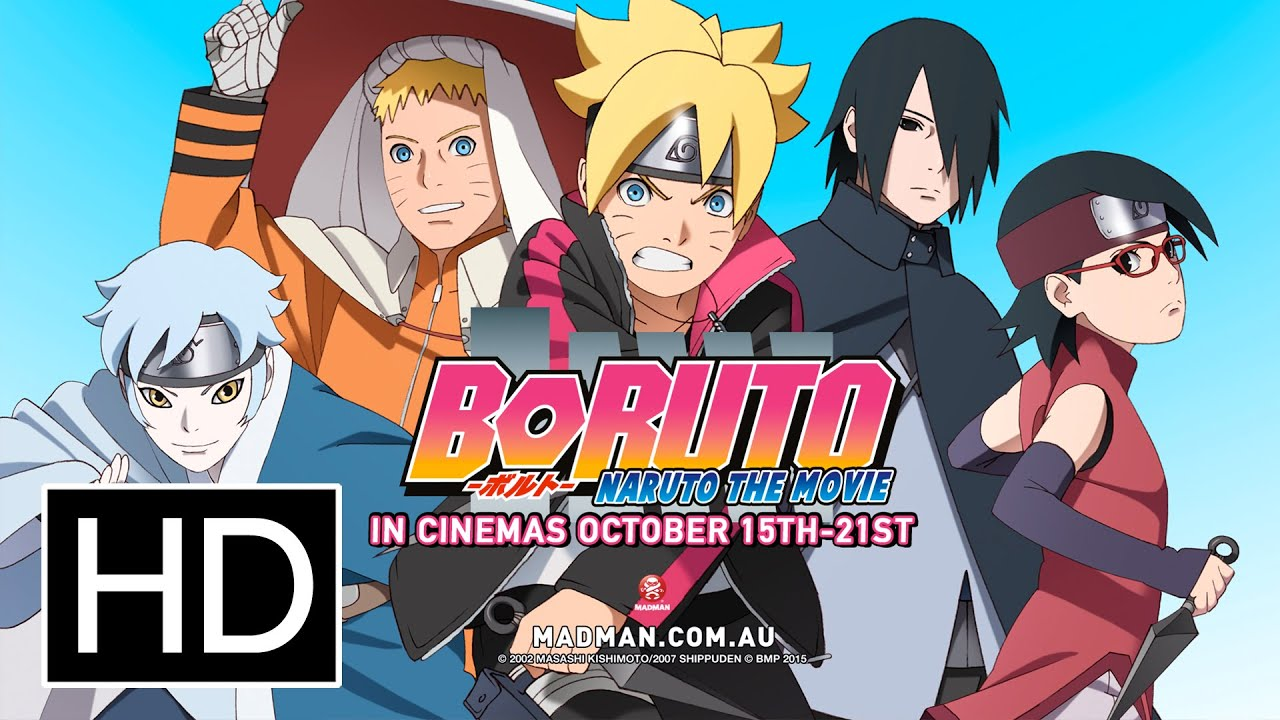 Boruto Naruto The Movie Ficial Full Trailer