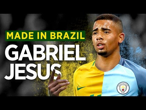 GABRIEL JESUS DOCUMENTARY | MADE IN BRAZIL