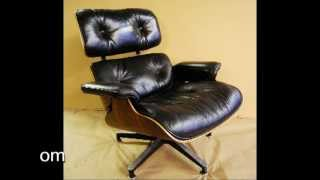 Herman Miller Eames Lounge Chair - How To Fix Broken Shockmounts And Arms