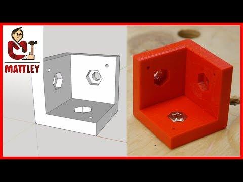 Come Costruire Un Componente Con Sketchup Da Realizzare Con Una Stampante 3D