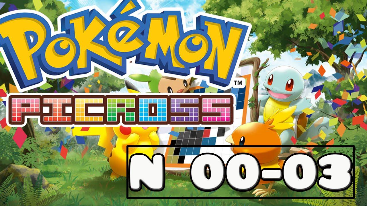 Pokemon picross 5 07 images pokemon images for Pokemon picross mural 2