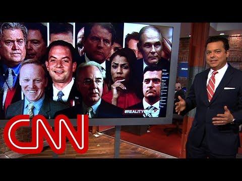 Trumps White House turnover reaches historic levels | Reality Check with John Avlon