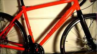 Bikes Direct Gravity Liberty CXD - closer look at the good and bad of disc brake cyclocross bike