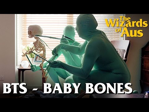 The Wizards of Aus || Behind the Scenes: Baby Bones