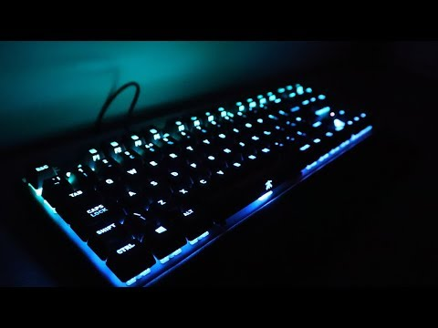 Fnatic miniSTREAK Gaming Mechanical Keyboard Review!