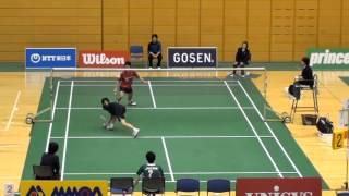 渡部大VS吉田昇(男子シングルス17位決定戦)