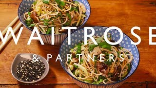 The Happy Pear Easy Noodles with Shiitake Mushrooms | Waitrose