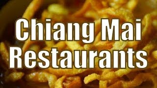 Restaurants in Chiang Mai | Thai Food Travel Guide