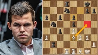 Nerves of Steel | Carlsen vs Caruana 2018. | Game 1 RAPID