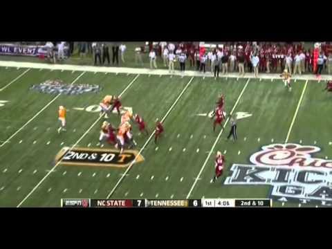 Cordarrelle Patterson vs NC State 2012