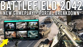 Battlefield 2042 New Gameplay and Battlefield Portal Reveal!