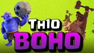 La BoHo come usarla per fare 3 stelle sui Th10 - Clash of Clans ITA