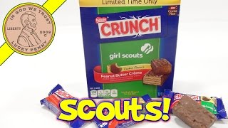 Girl Scouts Peanut Butter Crème Crunch Bars, These Are Tasty!