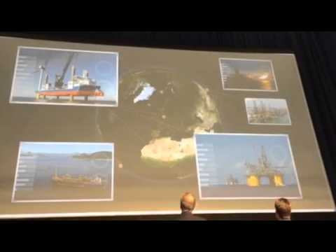 Official opening Offshore Energy 2014