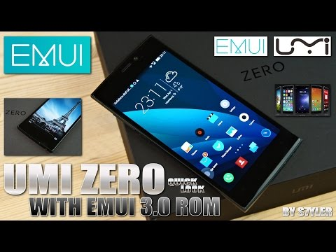 UMI ZERO (EMUI 3.0 ROM) 2GHz MTK6592T, Super AMOLED FHD, Full Metal Body