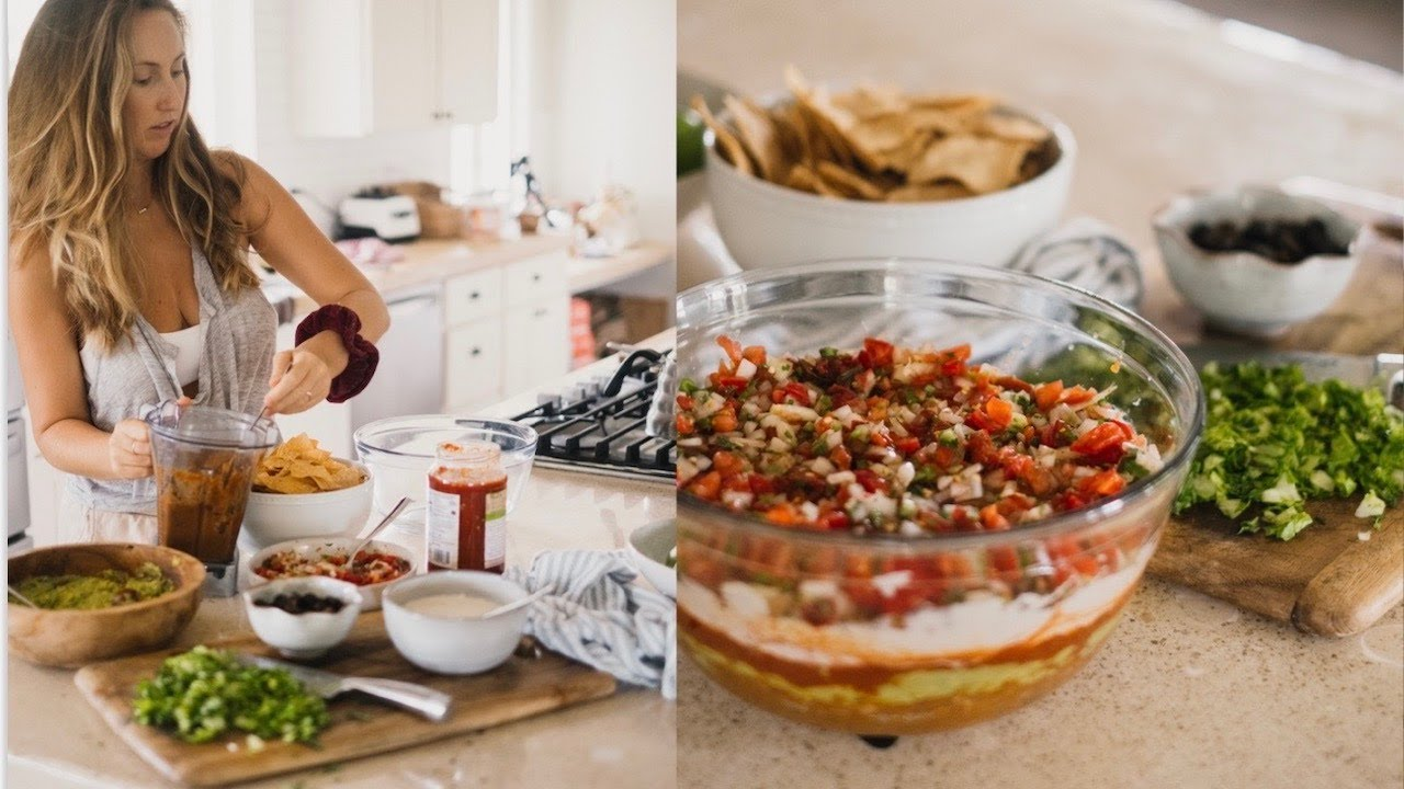 ULTIMATE VEGAN 7 LAYER DIP RECIPE + a little chat