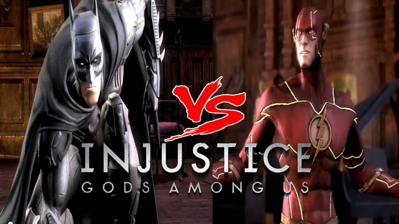 Injustice Gods Among Us: I'm Batman VS Flash (NEW 52 Skins ...