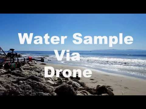 Water Sample via Drone UCSB