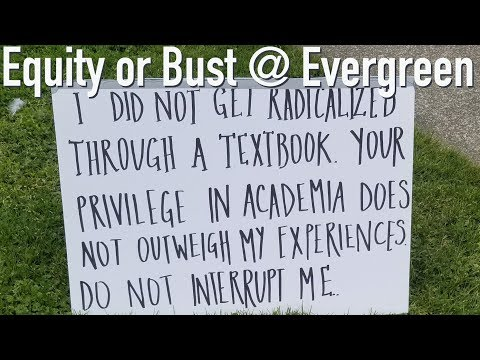 Equity or Bust at Evergreen
