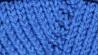 How to Knit the Purl Front and Back Increase (PFB)