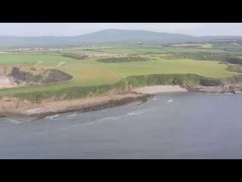 approaching Isle of Man and landing at Ronaldsway Airport