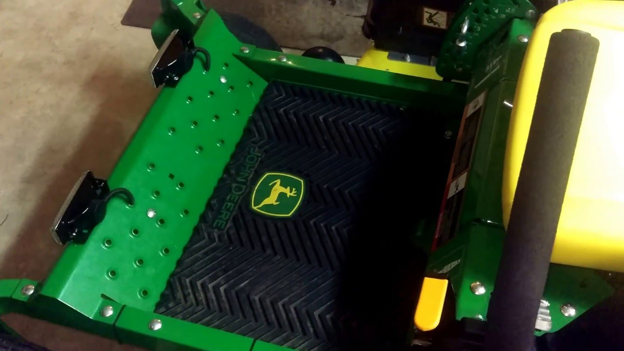 John Deere Zero Turn Headlight Install