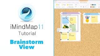 Tutorial: Brainstorm View - iMindMap 11