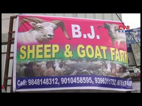 Huge Demand For Goats In Bakrid Festival Season | Mahabubnagar District | CVR News