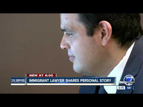 Immigrant lawyer shares personal story