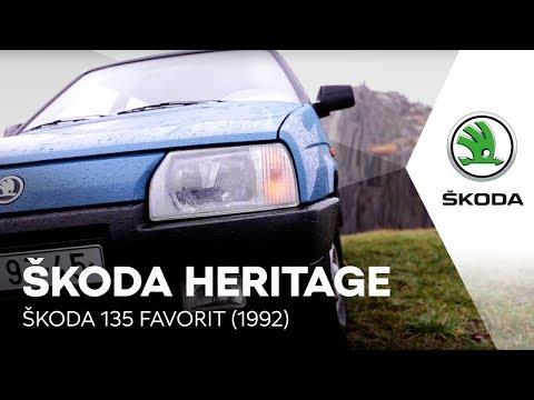 ŠKODA HERITAGE: ŠKODA 135 FAVORIT (1992)