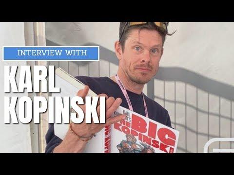 Interview With Karl Kopinski