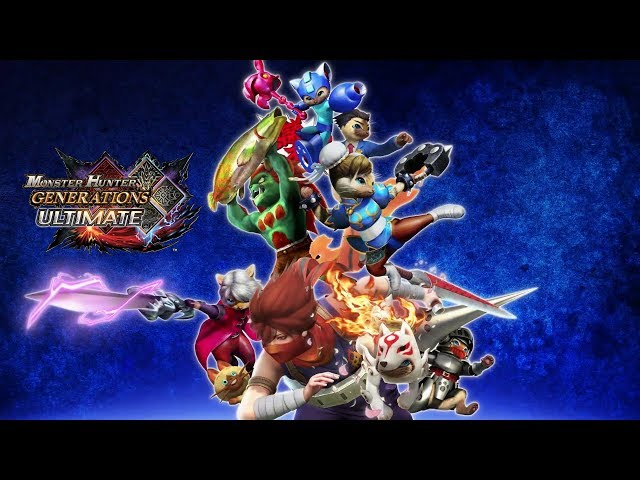 Monster Hunter Generations Ultimate - Capcom Crossovers
