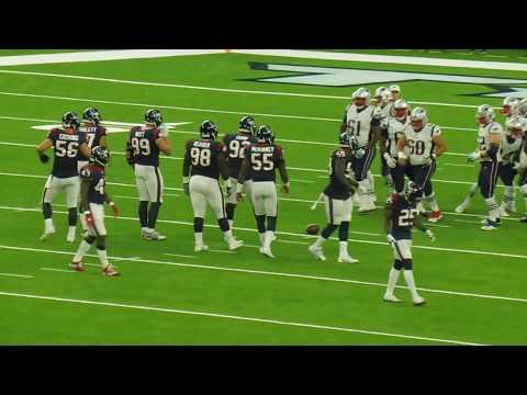 Tom Brady vs. JJ Watt..Patriots vs. Texans...NRG Stadium....8/19/17
