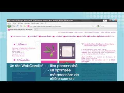 Référencement site internet - WebGazelle CMS 2.0
