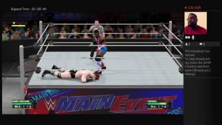 Let's Play WWE 2K17! My Career Mode Chasing The US Championship (Take 3)