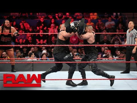 Heath Slater & Rhyno vs. The Authors of Pain: Raw, April 16, 2018