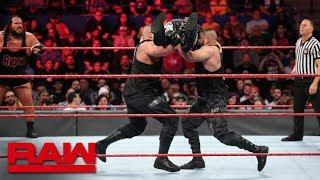 Heath Slater & Rhyno vs. The Authors of Pain: Raw, April 16, 2018