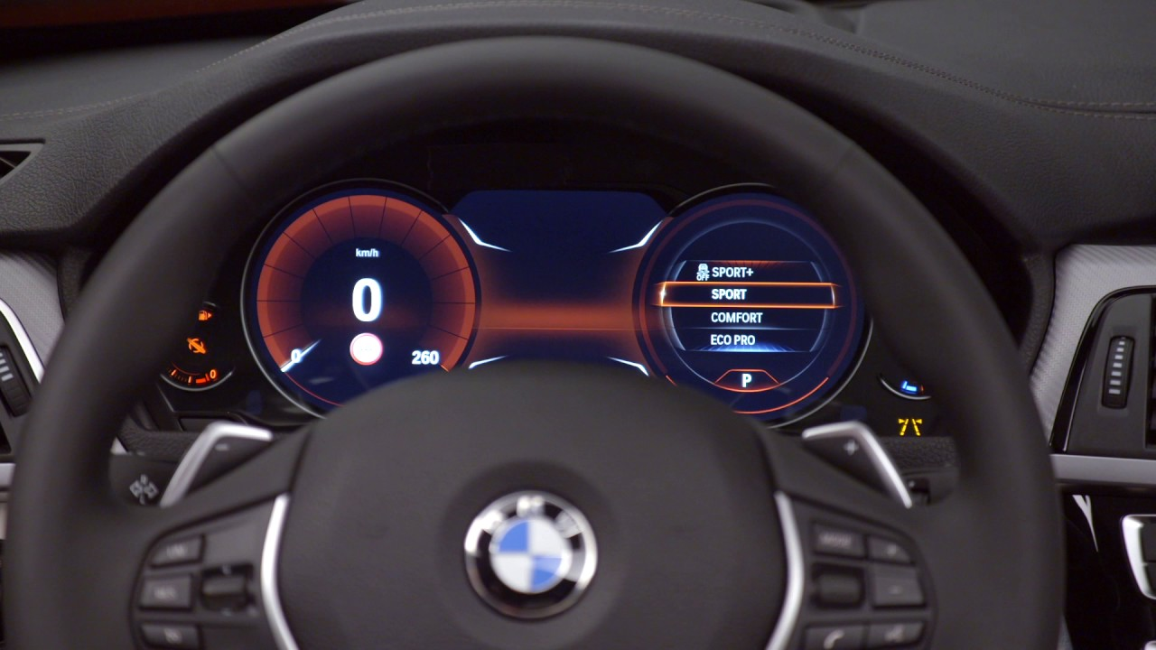 BMW Series Convertible Facelift Interior Design YouTube - Bmw 4 series interior