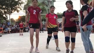 BK bóng chuyền hơi nữ 2019  Đồng Nong vs Phố Đồn