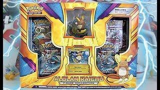 Opening A Alolan Raichu Figure Collection Box!!