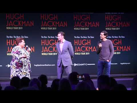 Hugh Jackman and Keala Settle are interviewed by Andy Lee. (Guest Spot:Chloe Dallimore) BWWSydney