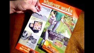 Flipping Thru Whatever Works Catalog, Garden, Home & Pest Control, Soft Spoken Comments, ASMR