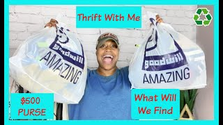Let's Go On A Thrifting Adventure | I'm UPSET I LEFT BEHIND A $500 PURSE!😡 | What Will We Find Next?