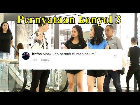 PERNYATAAN/PERTANYAAN KONYOL PART 3 - Prank Indonesia - Brandon Kent