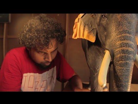 Anapattu 4 - Elephant Making ( Thrikkadavoor Shivaraju )