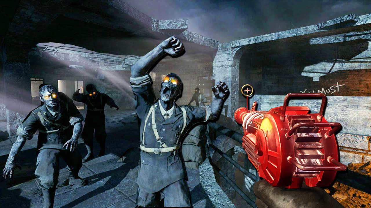 revisiting nacht der untoten   waw zombies call of duty