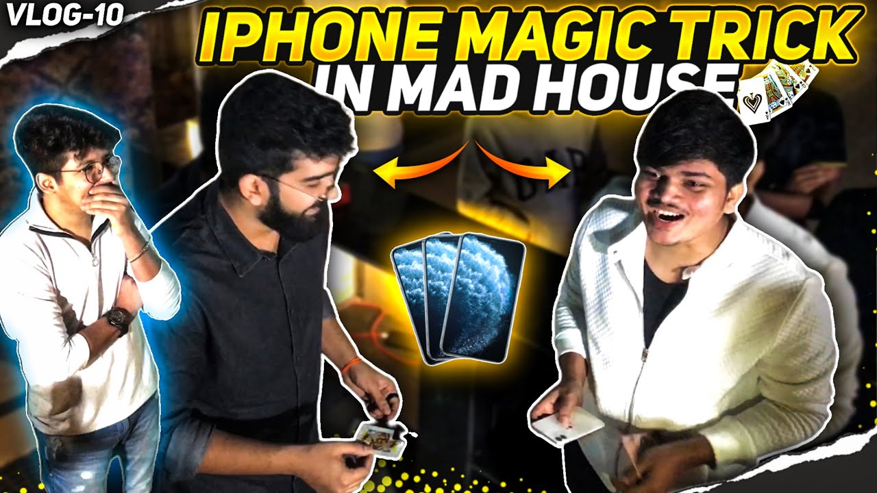 Professional Magic On Ritik's Iphone 11 😱   TSG Members Shocking Reaction in Madhouse - OMG Moment
